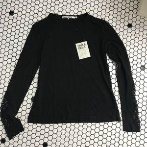 NWT Pam & Gela long sleeve shirt size medi…